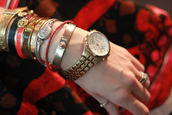 Sabrina's Daily Arm Party