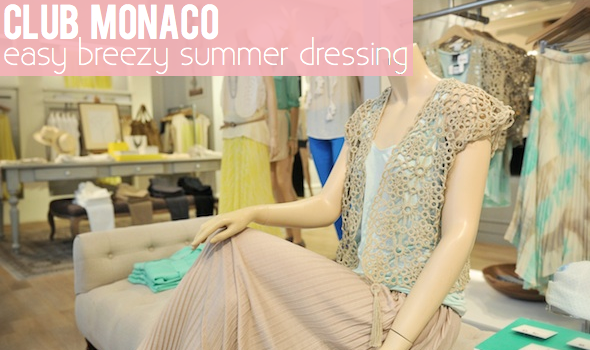 Easy Breezy Club Monaco Summer