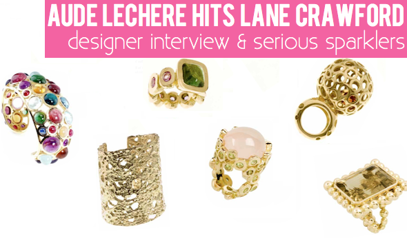 Interview with Aude Lechere, Jewelry Designer