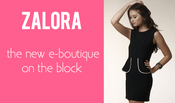 Zalora- New Site in Town