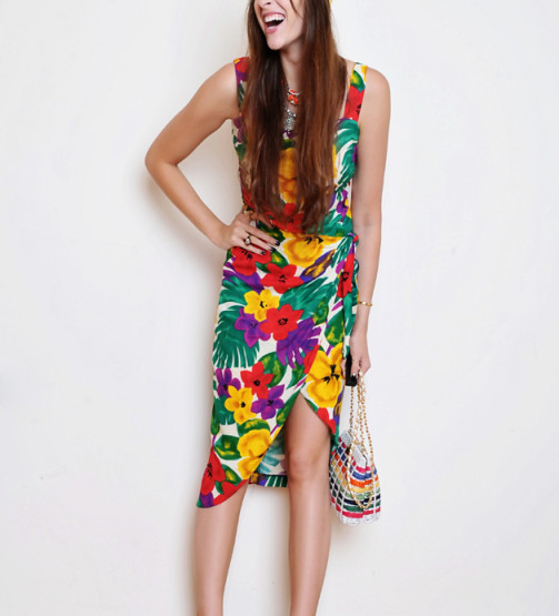 Vintage Tropical Prints