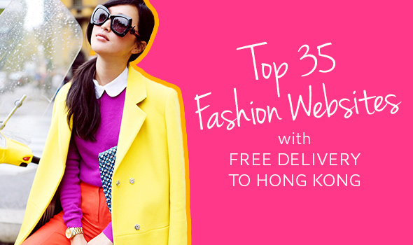 Top 35 Websites with Free Shipping to Hong Kong