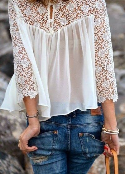 The Flaunt I Want...Lace