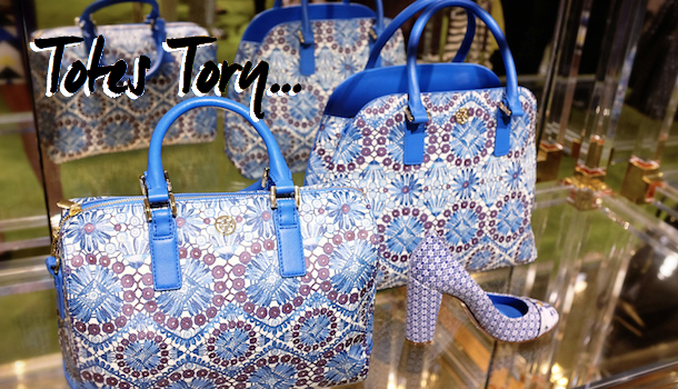 Tory Burch SS14- A Girly Garden Party