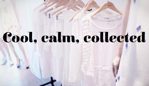Club Monaco SS14- Calm, Cool, and Collected
