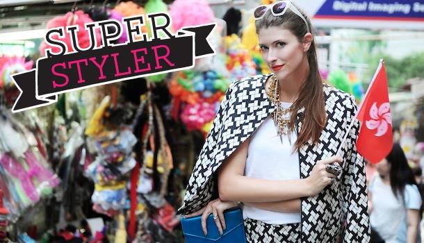Sabrina Sikora: Sassy Hong Kong Super Styler