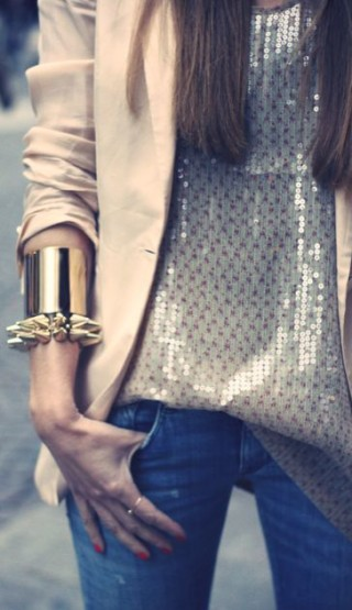 The Flaunt I Want... Gold Cuffs