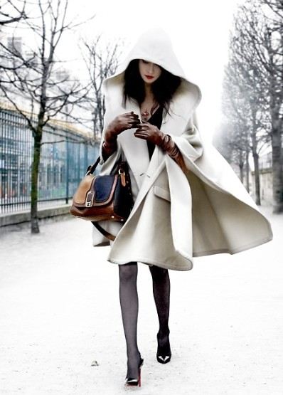 The Flaunt I Want... White for Winter