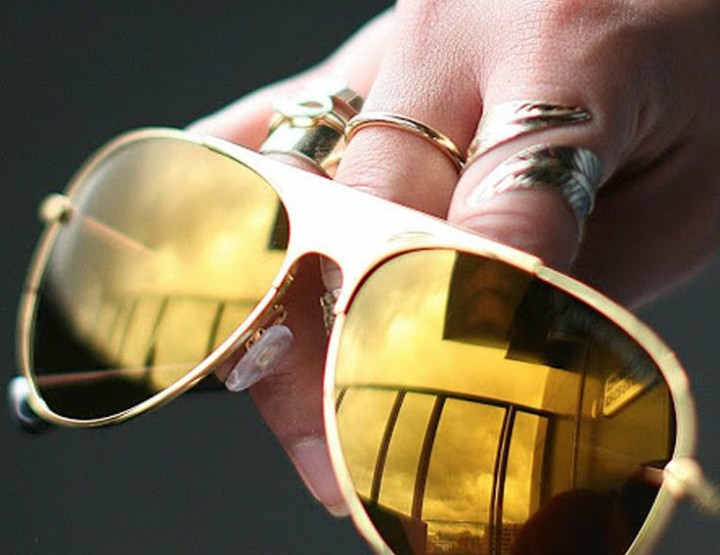 The Flaunt I Want...Mirrored Lenses