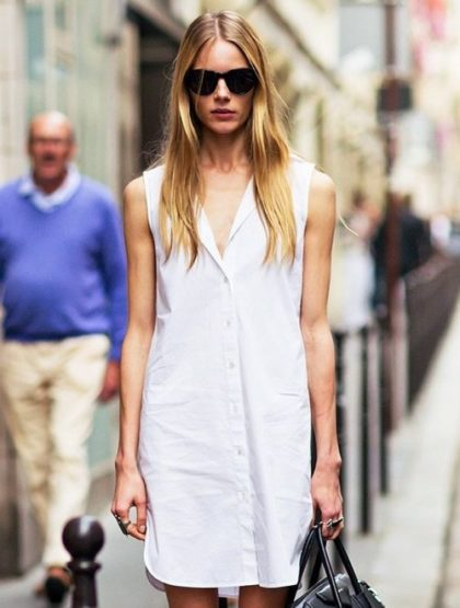 Updating a Classic Shirtdress